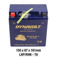 Dynavolt Gel Battery MG20CH-BS-C Battery 12 Volt NANO-GEL Series