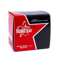 Roadstar Battery (See Chart) Suit Honda 70-79 Models 6N6-3B (6ah)