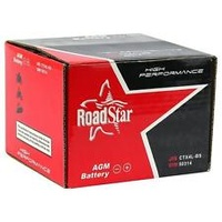 Roadstar Battery CB7C-A Battery 12 Volt Heavy Duty Series