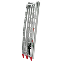 La Corsa 60-AR07-M23 Ramp Alloy Bifold 23cm X 2.25m Ladder Type