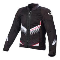 Macna Rewind Jacket Black/White/Red