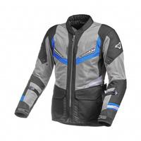 Macna Aerocon Textile Jacket Black/Grey/Blue