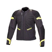 Macna Event Jacket Black/Grey/Fluro Yellow