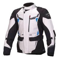 Macna Impact Pro Jacket Ivory/Blue