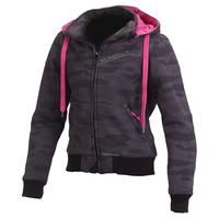 Macna Freeride Ladies Hoodie Jacket Dark Camo/Pink