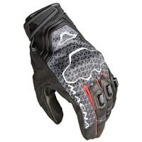 Macna Assault Gloves Black/Grey/Red