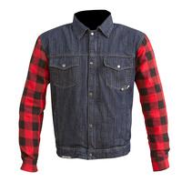 Merlin Haywood Jacket Blue/Red