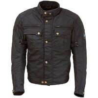 Merlin Perton Waxed Jacket Black