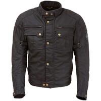 Merlin Perton Waxed Jacket Black