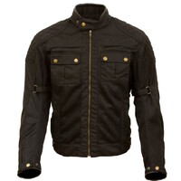 Merlin Shenstone Waxed Jacket Black