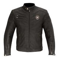 Merlin Alton Leather Jacket Brown