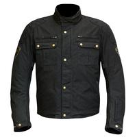 Merlin Sandon Wax Jacket Black
