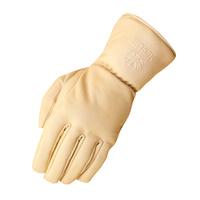 Merlin Stone Waterproof Leather Gloves Bone
