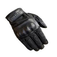 Merlin Ranton Wax/Leather Gloves Black