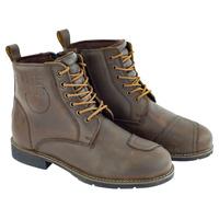 Merlin Ashton Waterproof Leather Boots Brown