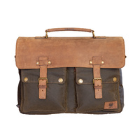 Merlin Cheadle Luggage Messenger Olive