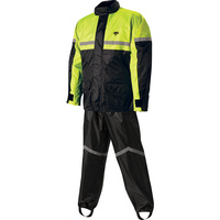 Nelson-Rigg 67-660-96 2 Piece Black/Hi-Vis Rainsuit Size 2XL