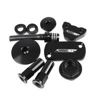 States MX 70-BKH-450K Billet Kit Black for Honda CRF450R/X