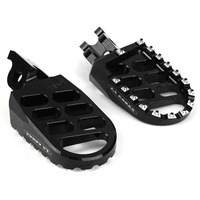 La Corsa  Footpegs - Black - Husqvarna All From 08-2012 For Motocross Use