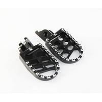 La Corsa Footpegs - Black - Kawasaki KXF250 06-12/KXF450 07-12