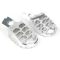La Corsa Footpegs - Silver - Kawasaki KXF250 06-12/KXF450 07-12