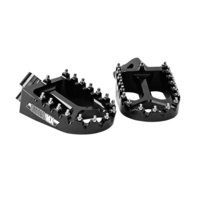 States MX Footpegs - Black - Kawasaki For Motocross Use