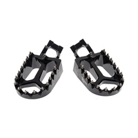 States MX 70-FP5-511K Alloy S2 Off Road Footpegs Black for all KTM 50-530 SX/EXC 16-Up/Husqvarna 85-501 16-Up