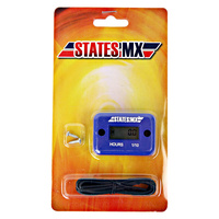 States MX 70-HM1-B Universal Hour Meter Blue