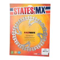 States MX 70-R434-0414 Rear Disc Rotor (240mm) for Honda XR650 00-06