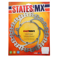 States MX 70-R592-0218 Race Wave Rear Disc Rotor for KTM 220mm