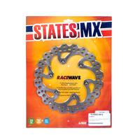States MX 70-R592-0912 Rear Disc Rotor (220mm) for Kawasaki KX125 89-02/KX250 87-05/KX500 89-04