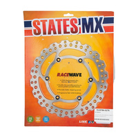 States MX 70-R784-0276 Rear Disc Rotor (240mm) for Suzuki RM125 99-12/RM250 99-12