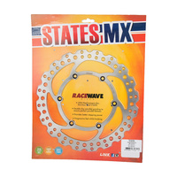 States MX 70-R785-0034 Front Disc Rotor (250mm) for Suzuki RM125 06-08/DR-Z250 01-07/DR-Z400E 00-15/DR-Z400S 05-07