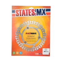 States MX 70-R922-0244 Front Disc Rotor (220mm) for Yamaha YZ80 93-01/YZ80LW BW 94-01/YZ85/YZ85LW BW 02-17