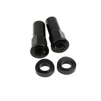 States MX 70-RLN-K Rim Lock Nut Kit Black