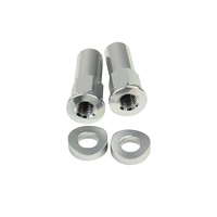 States MX 70-RLN-S Rim Lock Nut Kit Silver