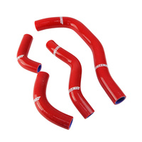 States MX 70-SHHD-506R Silicone Hose Set for Honda Red