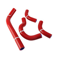 States MX 70-SHHD-512R Silicone Hose Set Red for Honda CRF250R 04-09/250X 04-14