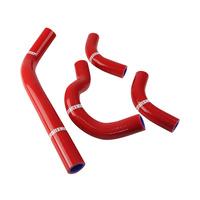 States MX 70-SHHD-512R Silicone Hose Set Red for Honda CRF250R 04-09/250X 04-14