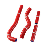 States MX 70-SHHD-513R Silicone Hose Set Red for Honda CRF150R 07-15