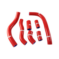 States MX 70-SHHD-517R Silicone Hose Set for Honda Red
