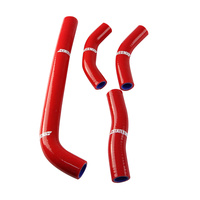States MX 70-SHHD-521R Silicone Hose Set for Honda Red