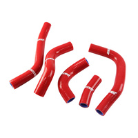 States MX 70-SHHD-526R Silicone Hose Set for Honda Red