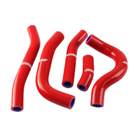 States MX 70-SHHD-527R Silicone Hose Set for Honda Red