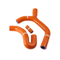 States MX 70-SHKT-502O Silicone Hose Set Orange for KTM 400 EXC/530 EXC-F 08-10