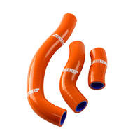 States MX 70-SHKT-503O Silicone Hose Set for KTM Orange