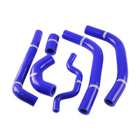 States MX 70-SHKW-516B Silicone Hose Set for Kawasaki Blue