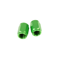 States MX Valve Cap Tube - Green For Motocross Use
