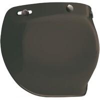 Bell 7018134 3 Snap Bubble Visor (Dark Smoke) for Custom 500 Helmets