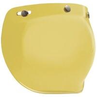 Bell 7018136 3 Snap Bubble Visor (Hi-Def Yellow) for Custom 500 Helmets